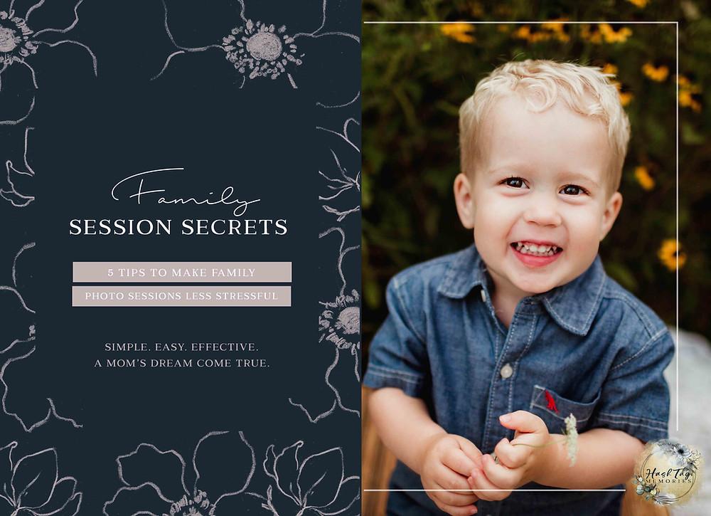 tips to help family photos go smoothly, Hamilton county family photographer