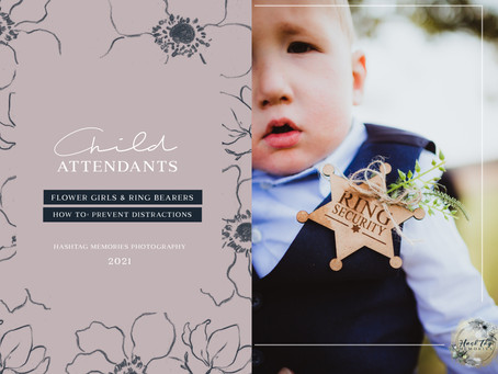Keep Kid Attendants From Taking Over Your Wedding | Planning Pro Tips: Noblesville Photographer