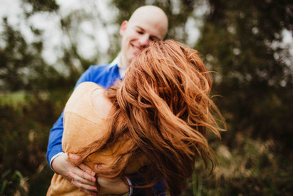 couple dances during zionsville family photo session by central indiana family photographer