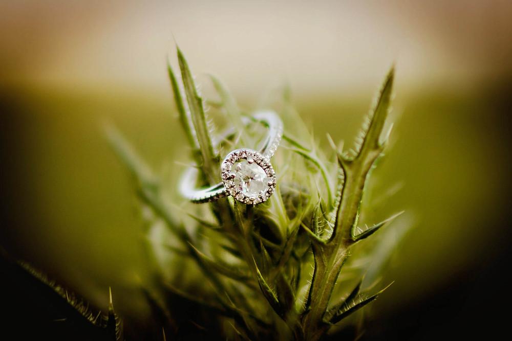 engagement ring detail shot, wedding ring inspiration,  wedding inspo