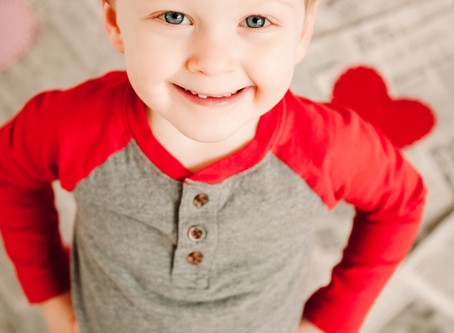 Indy Family Photography | Pauley Family | Valentine Day Mini