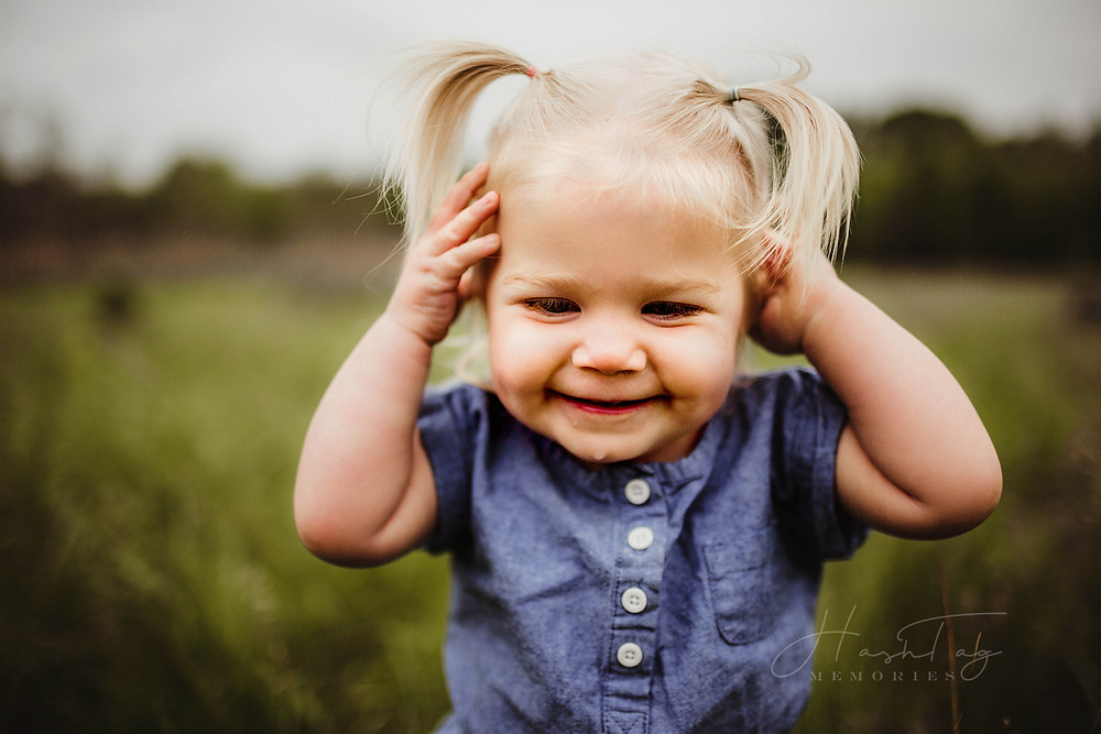 toddler photography in summer fields, cicero indiana