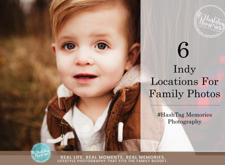 6 Family Shoot Locations | Indy Family Photography: Red Barns to Natural Spots