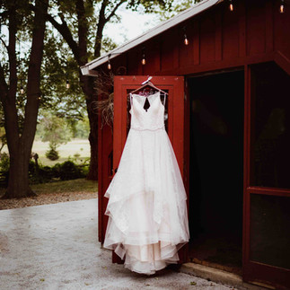 forty wayne wedding dress