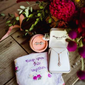 brides wedding day details