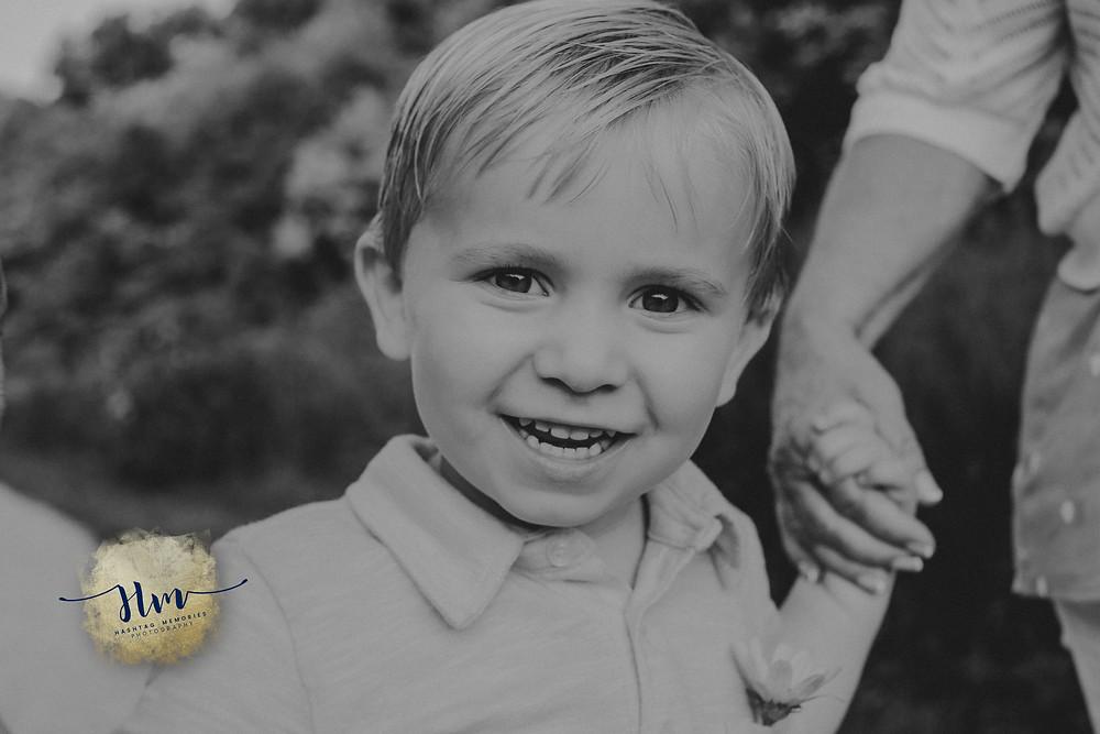 Indy little boy portrait photo by HashTag Memories in summer