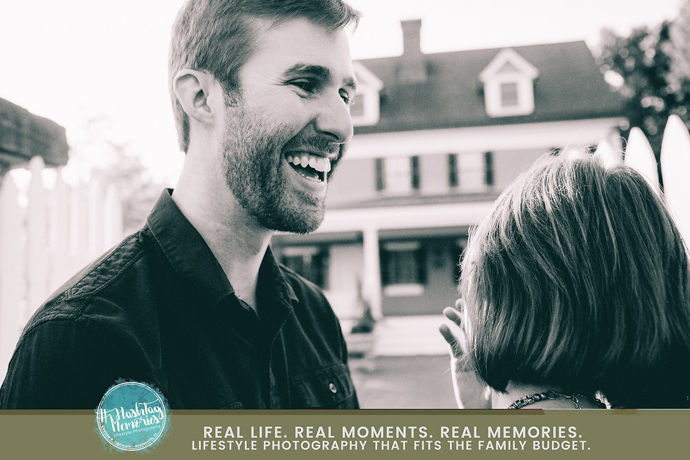 engagement and family photographer in Fishers shot by HashTag Memories in lifestyle