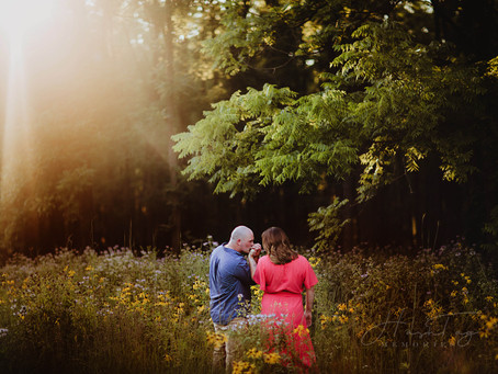 Black Walnut Grove,  Whitney & Brian's Engagement Photos | Fort Ben with Indy Wedding Photographer