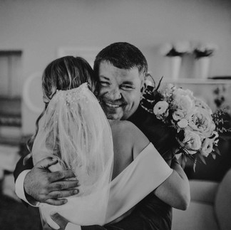 Father of Bride Hug