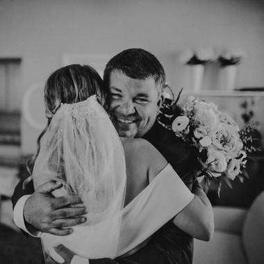 Father of Bride Hug
