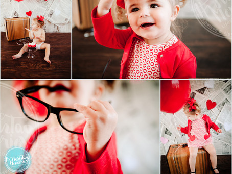 Be Mine Minis |  Making Daddies A #ValentinesHero - No Jewelry Store Required | Indy Family Photos