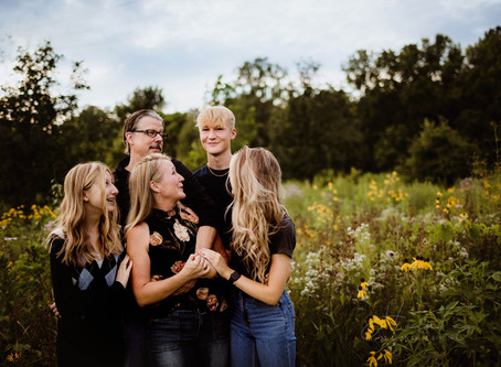 Summer Family Photos with Teens, Westfield Photographer, Campbell Family | Razzing For The Win