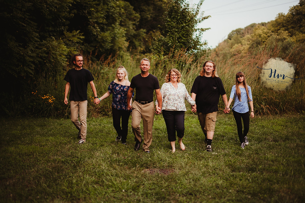 Family photography with teens in Indy by HashTag Memories Photography