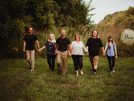 Indy Family Photography | MacGregor Park, Westfield | McGinnis Family & Teens