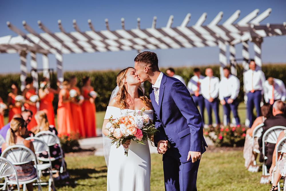 wedding planning support, kids in the wedding, noblesville bride support