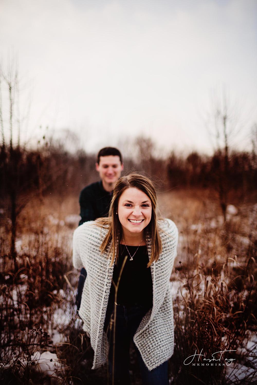 Indianapolis Wedding Photographer, Maple Lane Pavilion Engagement, Hashtag Memories Photography