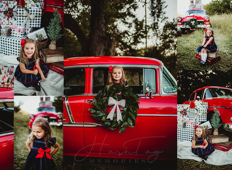 Santa Baby  Mini Sessions,  Xmas Card Family Photos | Noblesville, IN Photographer