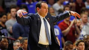 Coach K won even before the season  started. Darn.