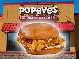 Standing in long lines to get a Popeyes fried chicken sandwich? Cluck that.