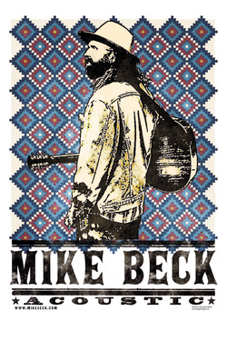 Mike Beck ACOUSTIC poster