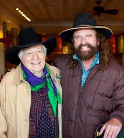 Mike and Ramblin Jack Elliott