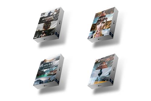 Giga Preset Pack x4 - Wedding, Explorer, People, Cities