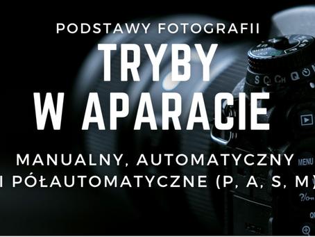 Tryby fotografowania P, A, S, M, Tv, Av, Auto