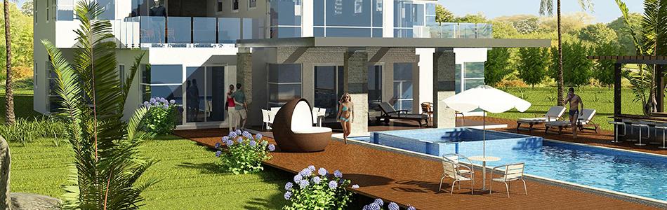 Back Yard Villa Pool