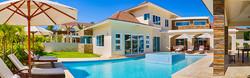 Back yard villa