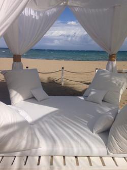 Oceanside Canopy Bed