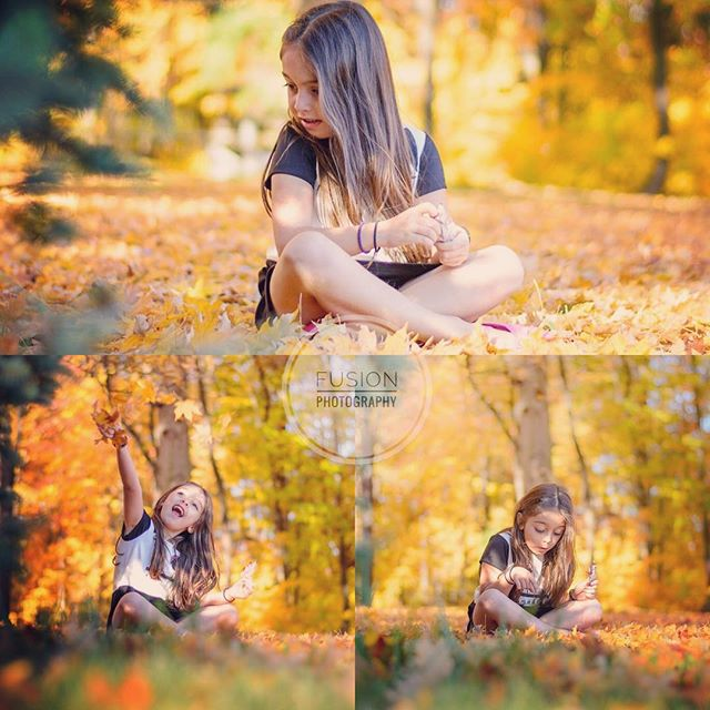 #fall2016 #playingwithleaves #playingintheleaves #michiganweather #michigrammers #beautyfulgirl #bea
