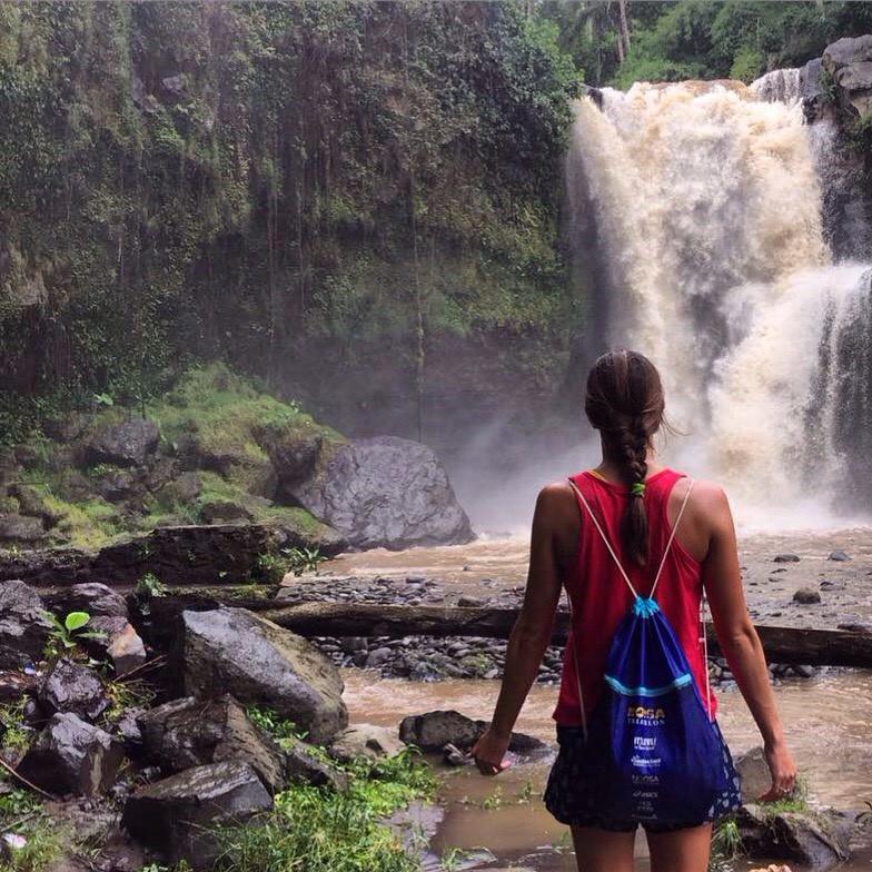 Secret waterfalls in Ubud