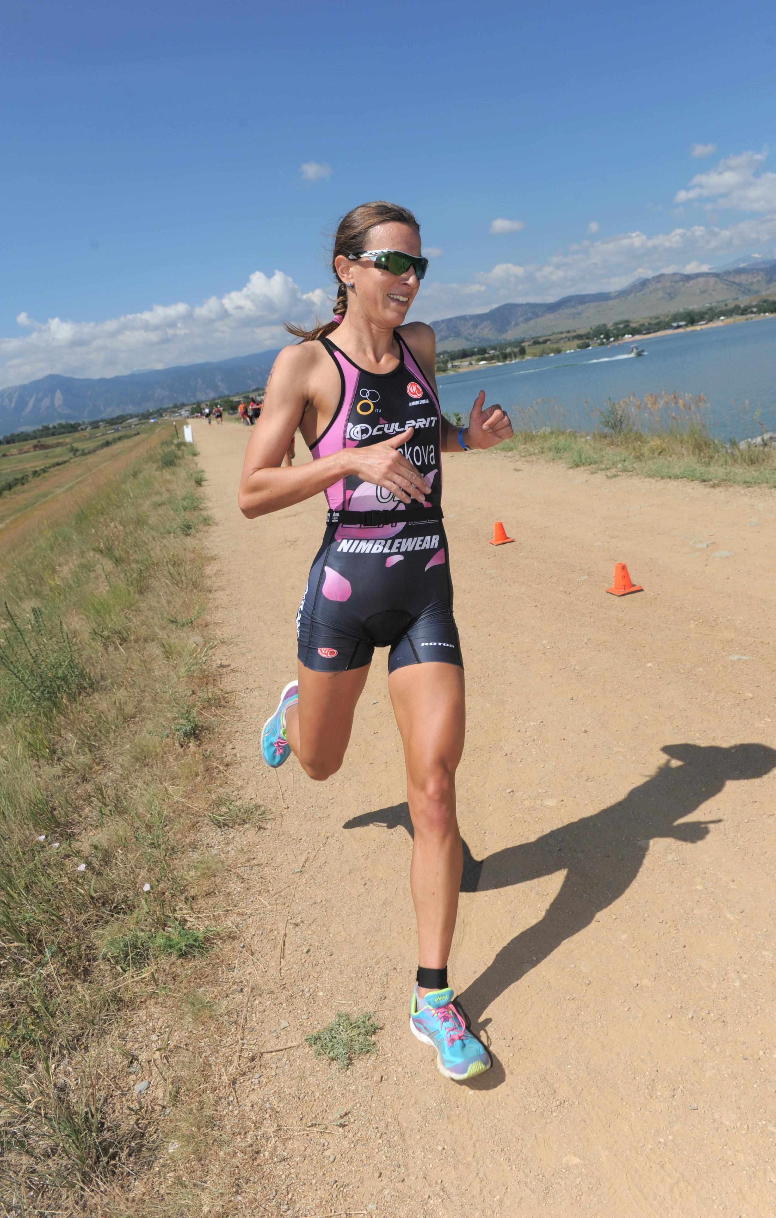Radka Vodickova runs Boulder Peak 2014 DSC_6581.jpg