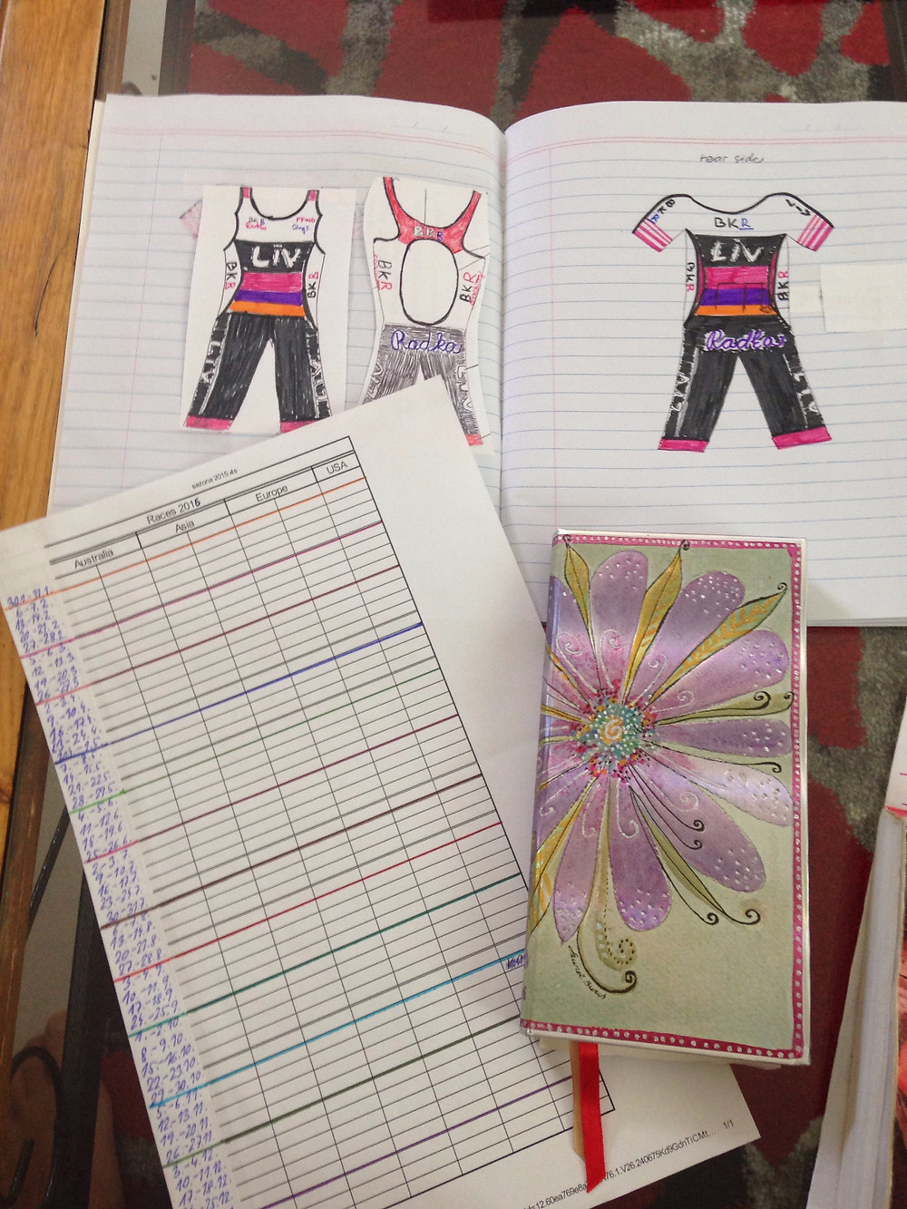 Plan your races and design your own tri kit