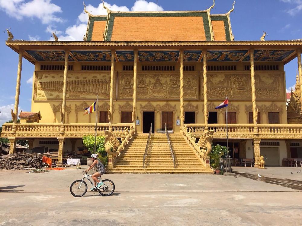 Bike trip in Phnom Penh, Cambodia