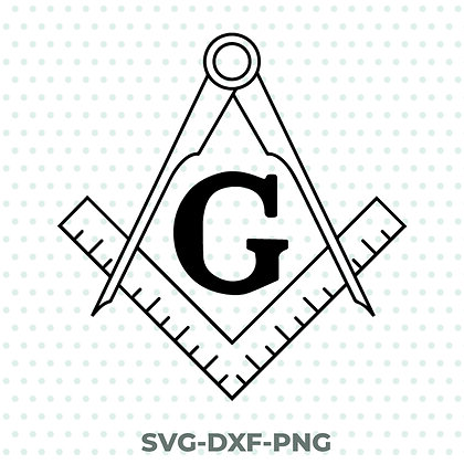 Freemasons Design - SVG / DXF / PNG Masonry