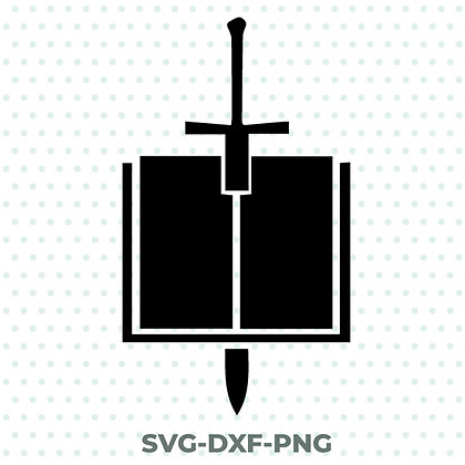 Warhammer Gray Knights Design - SVG / DXF / PNG 40k