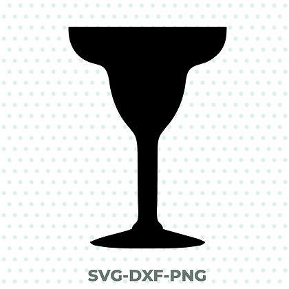Margarita Glass Design - SVG / DXF / PNG Drinking