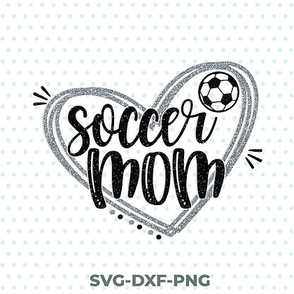 Soccer Mom Football SVG / DXF / PNG
