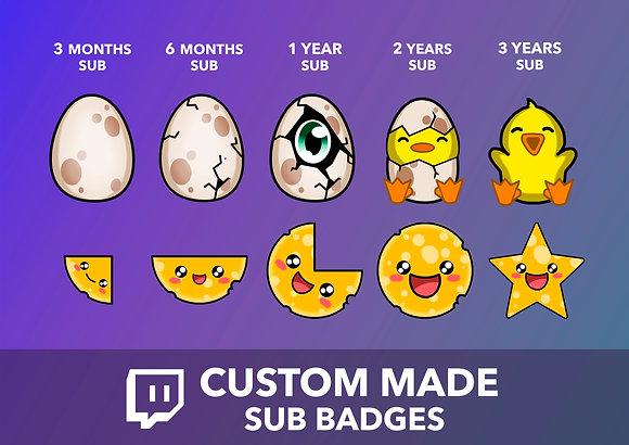 Custom Sub Badge