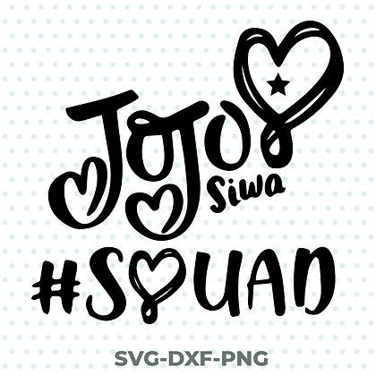 Jojo Siwa Squad SVG / DXF / PNG