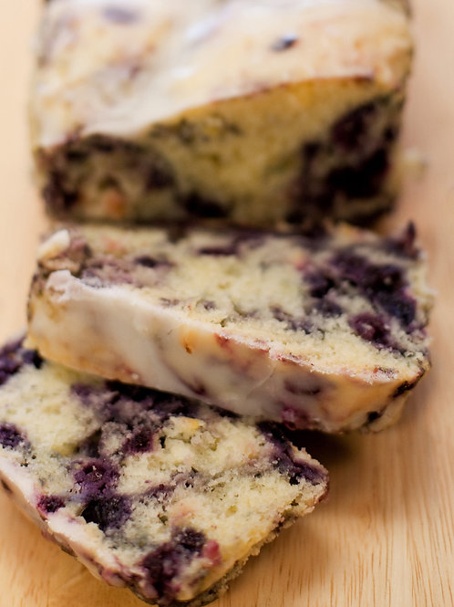 Lemon Blueberry Teacake