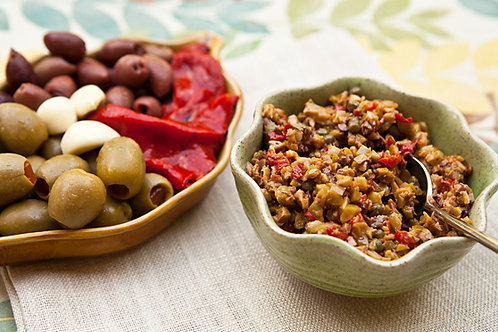 Mediterranean Olive Dip