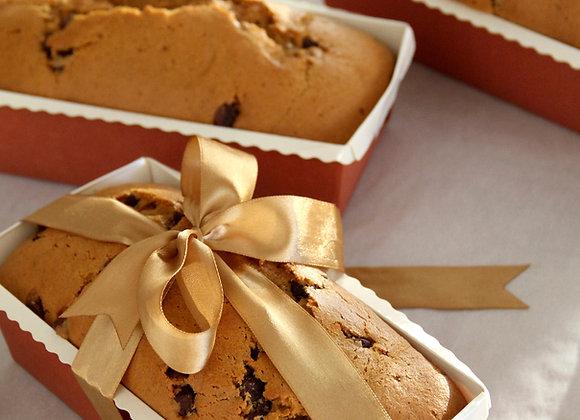 Pumpkin Chocolate Chip Teacake