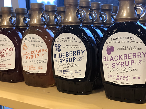 Blackberry Patch Pancake Syrups