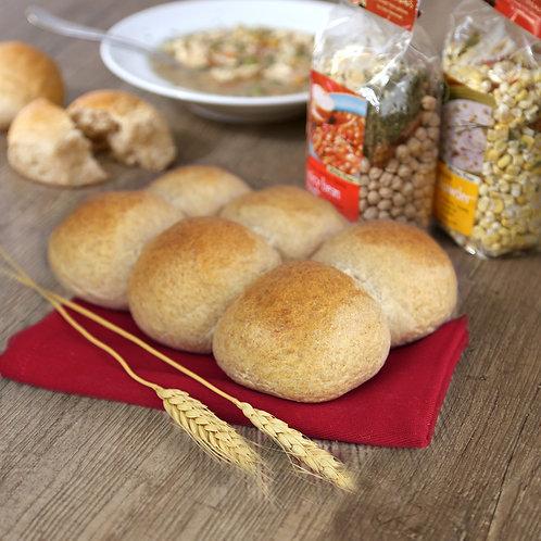 FROZEN Honey Wheat Dinner Rolls 6pk