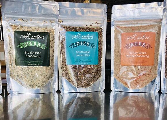 Salt Sisters Dips & Seasoning