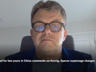 Canadian jailed for two years in China comments on Kovrig, Spavor espionage charges