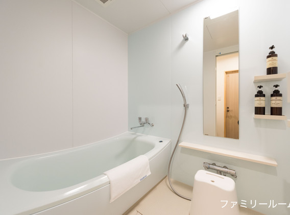 ファミリールーム風呂