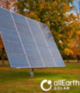 Fall AllEarth Solar Tracker